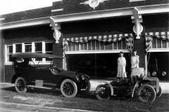 D. D. Wertzberger Cadillac dealership, c 1916