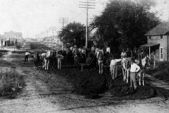 Tulsa street paving, c 1910