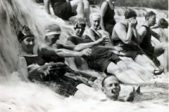 Group at Bird Creek Falls