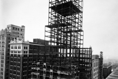 Philtower construction, 5th & Boston, 1927