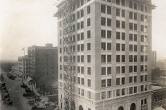 Exchange National Bank construction, c. 1923