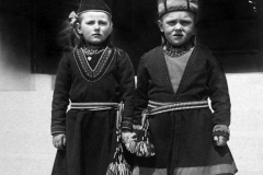 Children from Lapland Region of Scandinavia, c 1910