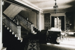 Travis Mansion foyer, 1920s