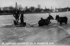 "IL Deisenroth  ""A Critical moment in a river of ice"""