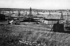"IL Deisenroth ""The Glenn Pool Oklahoma Oil Fields"" Postmarked June 26, 1909"
