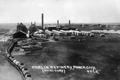 "IL Deisenroth  ""Marlin Refinery, Ponca City, Okla. (Doubledry/Doubleday)"" July 17, 1921"