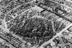 Aerial View of Woodward Park, 1984.07.04