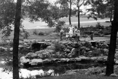 Family visiting Woodward Park, 2012.003.045