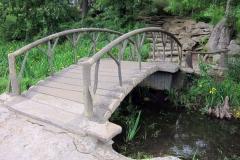 current, arched bridge