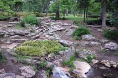 current, lower rock garden
