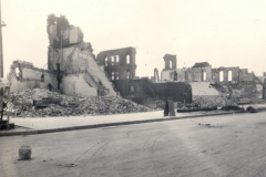 Greenwood district after the 1921 Tulsa Race Riot/Massacre
