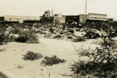 Ruins after the 1921 Tulsa Race Riot/Massacre
