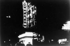 Orpheum Theater marquee (1993.014.013)