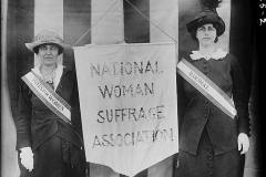 National Women's Suffrage Association workers