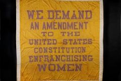 Women's Suffrage Banner, 1914-1917