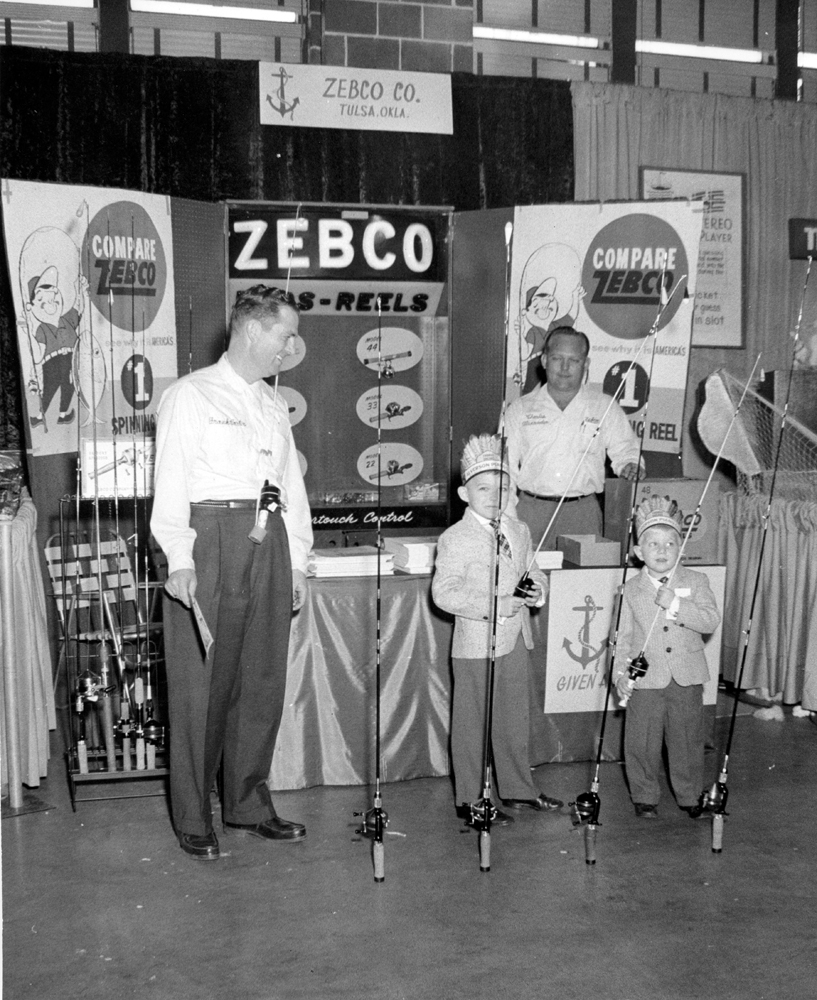 Zebco Booth at Sports show