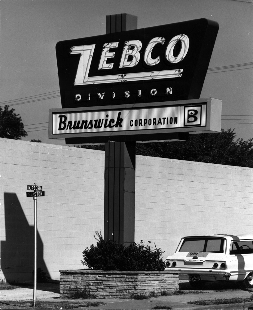 Zebco Sign
